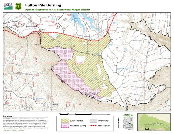 Prescribed Burn Planned on Black Mesa Ranger District of the ...